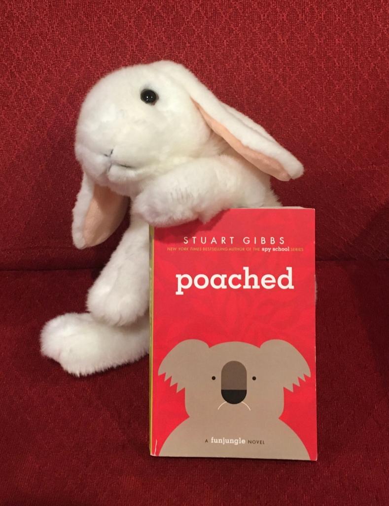 Marshmallow reviews Poached by Stuart Gibbs.