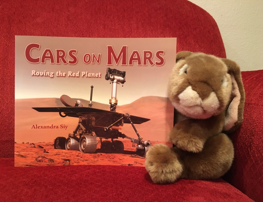 Caramel reviews Cars on Mars: Roving the Red Planet by Alexandra Siy.