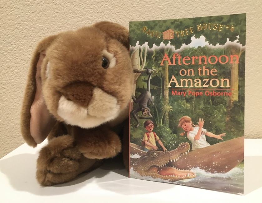 Caramel reviews Afternoon on the Amazon (Magic Tree House #6) by Mary Pope Osborne.
