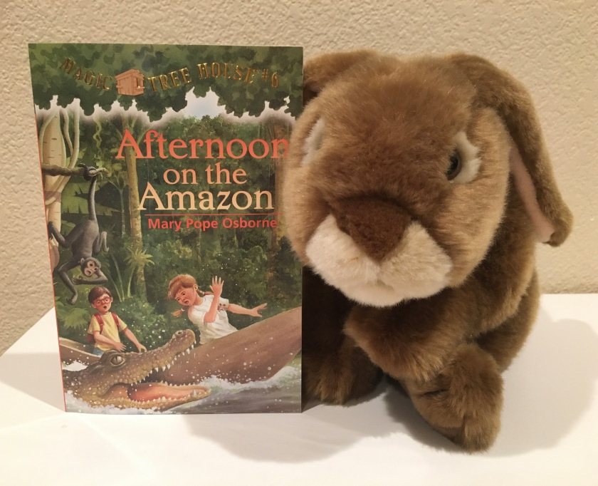 Caramel has enjoyed reading Afternoon on the Amazon (Magic Tree House #6) by Mary Pope Osborne, and is looking forward to reading more of the series.