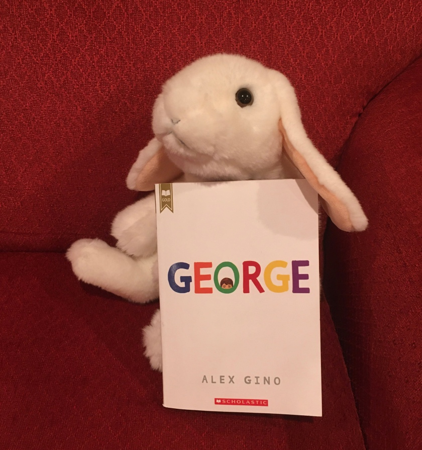 Marshmallow reviews George by Alex Gino.