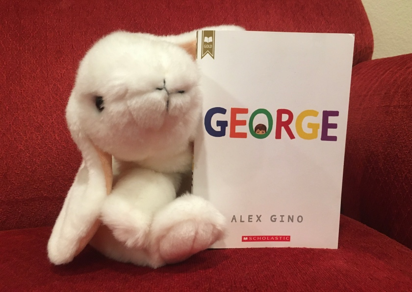 Marshmallow rates George by Alex Gino 95%.