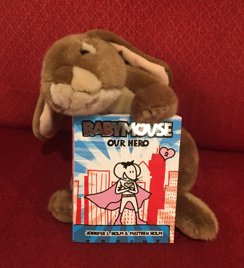 Caramel enjoyed reading Babymouse: Our Hero (Babymouse #2) by Jennifer L. Holm and Matthew Holm and recommends it to all little bunnies.