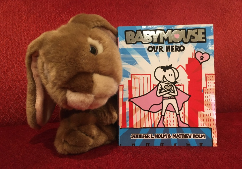 Caramel reviews Babymouse: Our Hero (Babymouse #2) by Jennifer L. Holm and Matthew Holm.