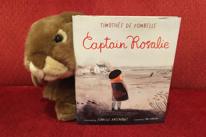 Caramel reviews Captain Rosalie, written by Timothee De Fombelle and illustrated by Isabelle Arsenault.
