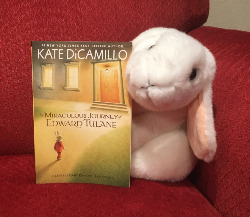 Marshmallow reviews The Miraculous Journey of Edward Tulane by Kate DiCamillo.