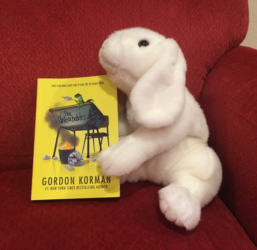 Marshmallow rates The Untechables by Gordon Korman 100%.