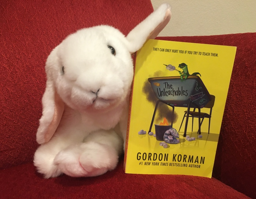 Marshmallow reviews The Untechables by Gordon Korman.