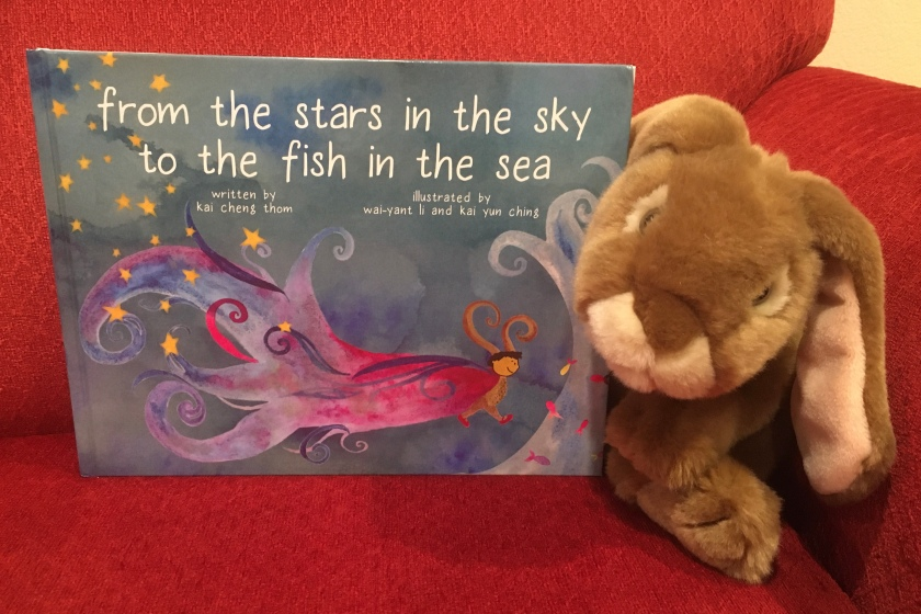 Caramel reviews From the Stars in the Sky to the Fish in the Sea, written by Kai Cheng Thom and illustrated by Wai-Yant Li and Kai Yun Ching.