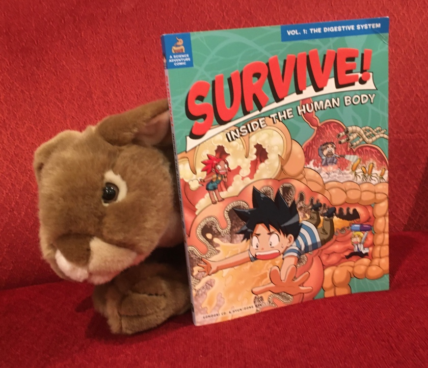 Caramel reviews Survive: The Digestive System, illustrated by Hyun-Dong Han.