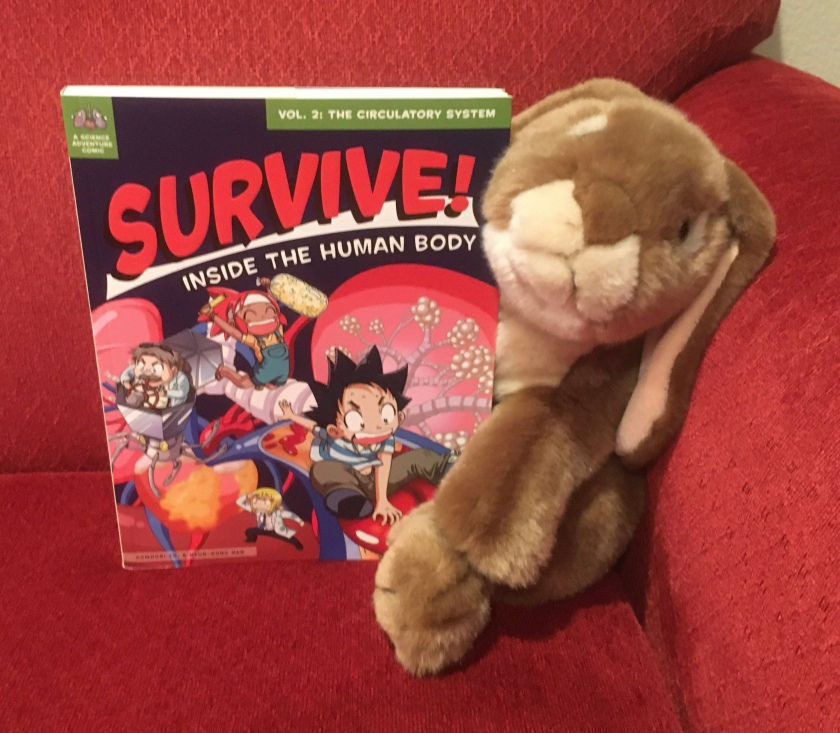 Caramel reviews Survive! Inside the Human Body: The Circulatory System by Hyun-Dong Han.