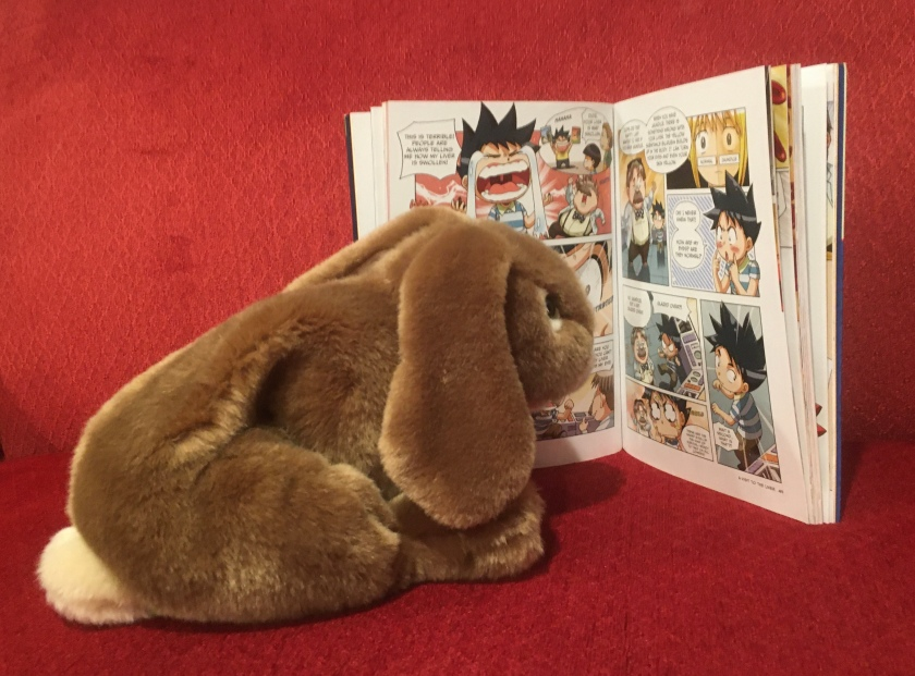Caramel is reading Survive! Inside the Human Body: The Circulatory System by Hyun-Dong Han