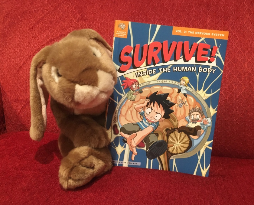 Caramel reviews Survive! Inside the Human Body: The Nervous System by Hyun-Dong Han.