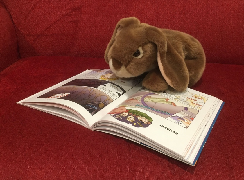 Caramel is reading Survive! Inside the Human Body: The Nervous System by Hyun-Dong Han.