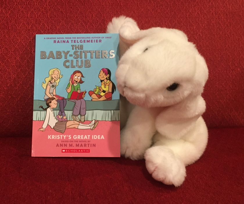 Marshmallow rates Kristy's Great Idea (The Baby-Sitters Club Graphic Novels #1) by Ann M. Martin and Raina Telgemeier 95%.