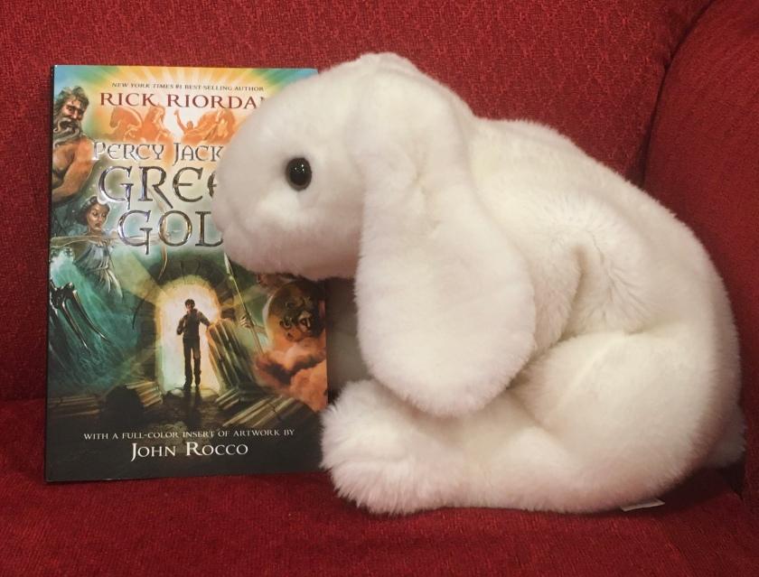 Marshmallow reviews Percy Jackson's Greek Gods by Rick Riordan.