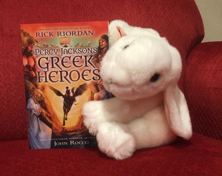 Marshmallow reviews Percy Jackson's Greek Heroes by Rick Riordan.