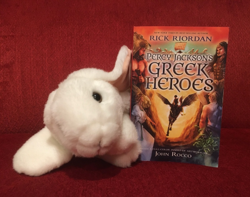 Marshmallow rates Percy Jackson's Greek Heroes by Rick Riordan 95%.