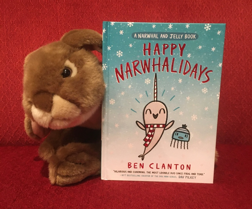 Caramel reviews Happy Narwhalidays by Ben Clanton.