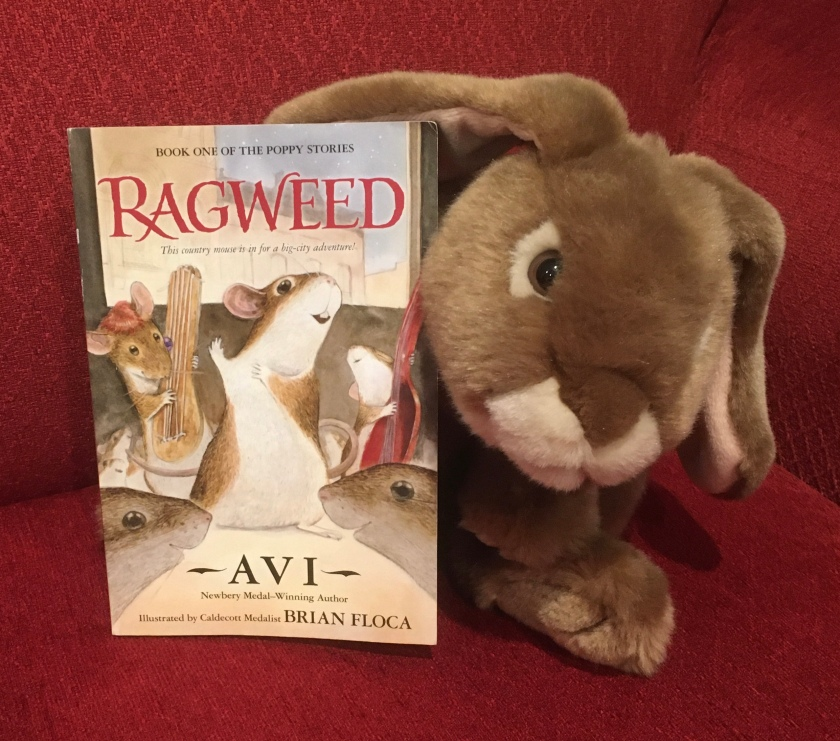 Caramel reviews Ragweed by Avi.