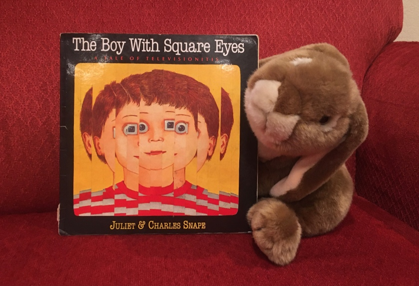 Caramel reviews The Boy with Square Eyes by Juliet Snape and Charles Snape.