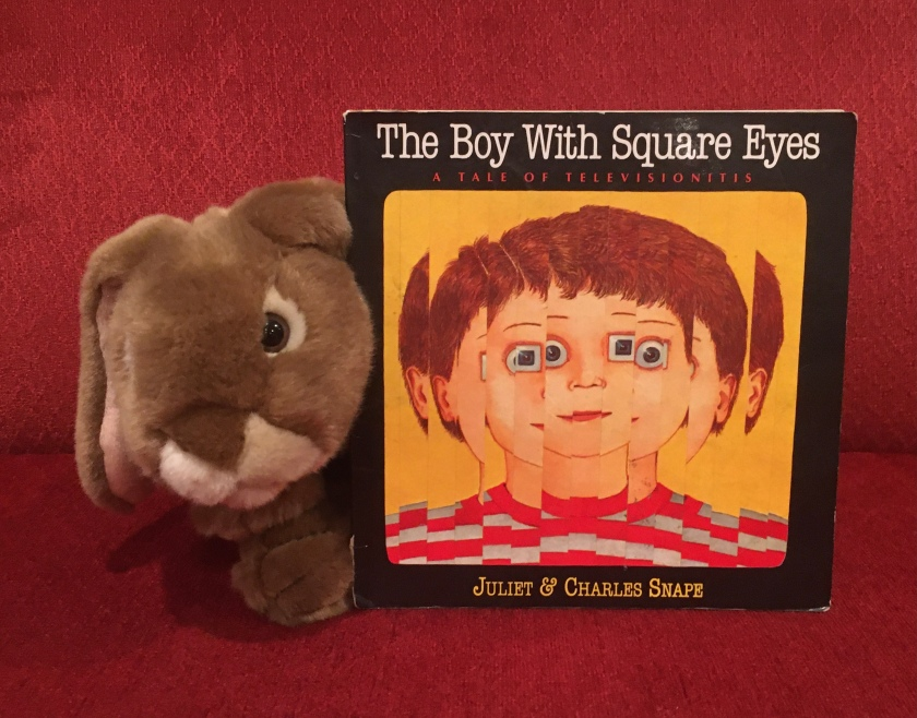 "Caramel thinks The Boy with Square Eyes by Juliet Snape and Charles Snape is ""fun, colorful, and hilarious""."