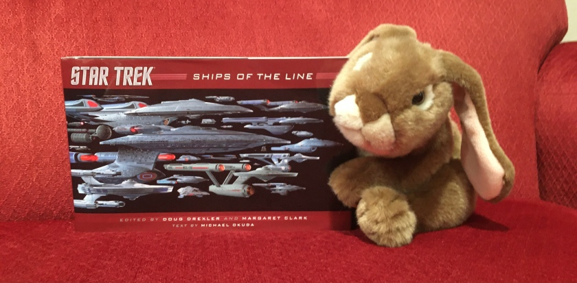 Caramel reviews Star Trek: Ships of the Line by Doug Drexler, Margaret Clark, and Michael Okuda.