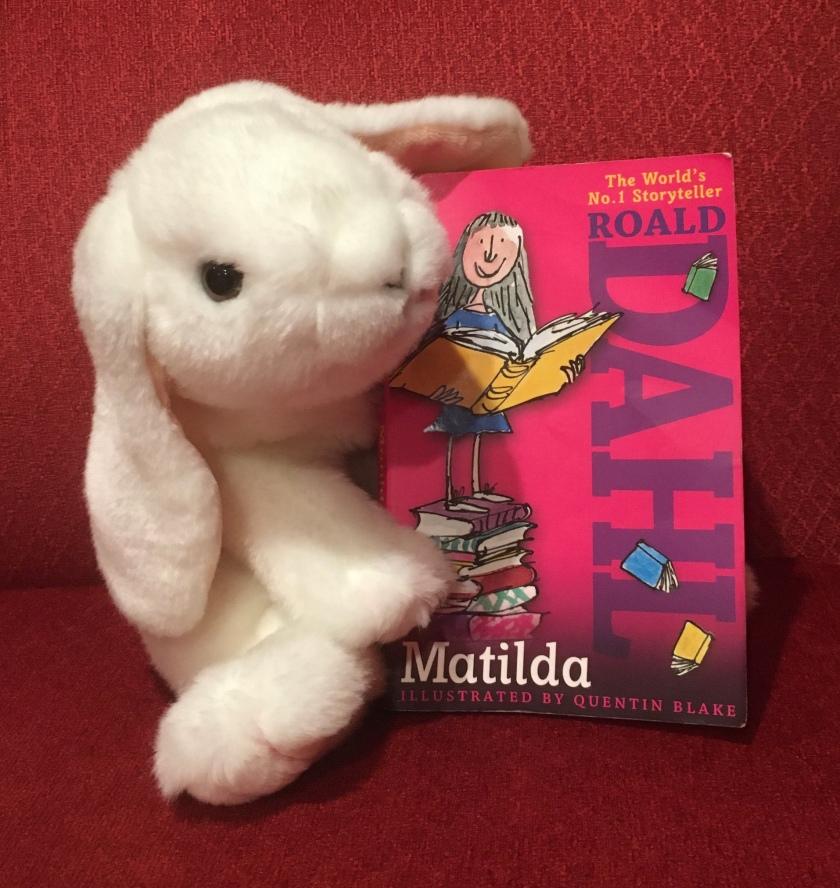 Marshmallow reviews Matilda by Roald Dahl.