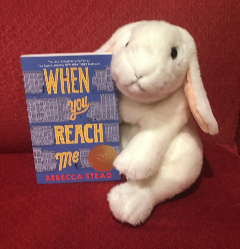 Marshmallow reviews When You Reach Me by Rebecca Stead.