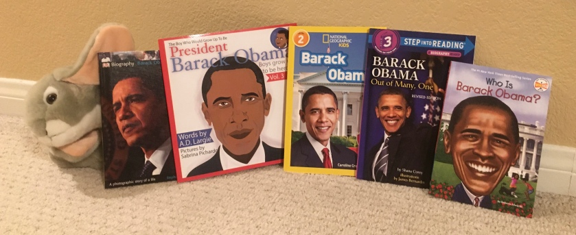 Sprinkles thinks that if you or your little ones want to learn about President Barack Obama, there are a lot of great resources out there!