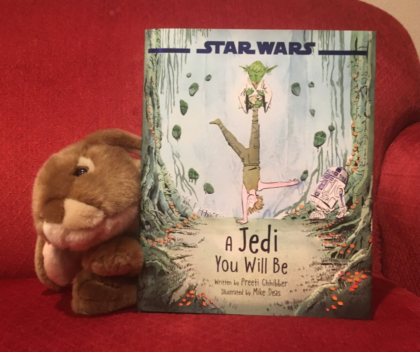 Caramel reviews A Jedi You Will Be, written by Preeti Chhibber and illustrated by Mike Deas.