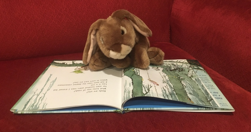 "Caramel is reading A Jedi You Will Be, written by Preeti Chhibber and illustrated by Mike Deas: ""Willing to work hard are you?"""