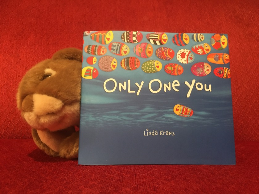 Caramel loved reading Only One You by Linda Kranz, and recommends it to all little bunnies!