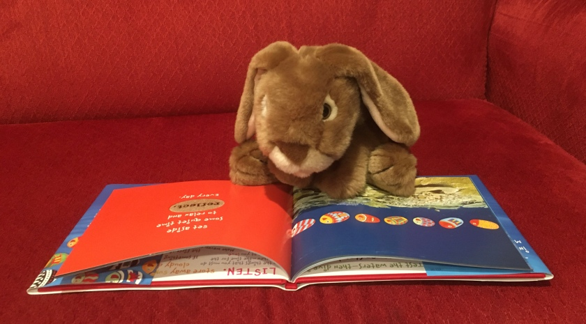 "Caramel is reading Only One You by Linda Kranz: ""Set aside some quiet time to relax and reflect every day."""