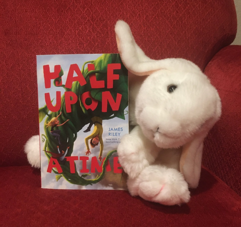 Marshmallow reviews Half Upon A Time by James Riley.