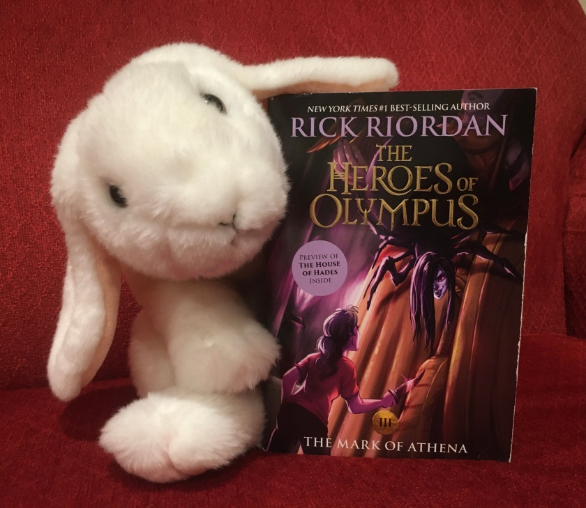 Marshmallow rates The Mark of Athena (Book 3 of the Heroes of Olympus Series) by Rick Riordan 100%.