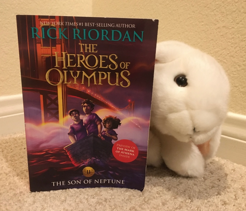 Marshmallow rates The Son of Neptune (Book 2 of the Heroes of Olympus Series) by Rick Riordan 100%.