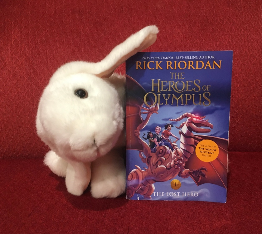 Marshmallow rates The Lost Hero (Book 1 of the Heroes of Olympus Series) by Rick Riordan 100%.