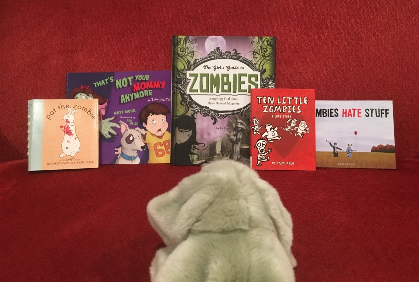 Sprinkles reviews children's books about zombies.
