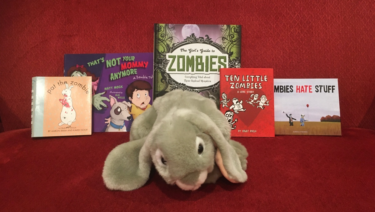 Sprinkles reviews children's books aboutzombies