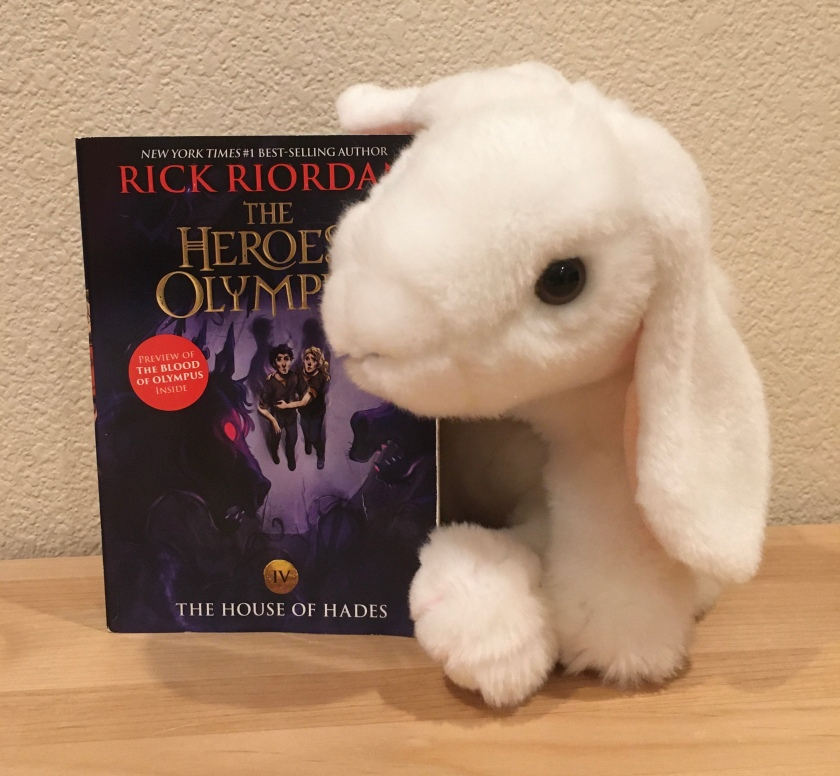 Marshmallow rates The House of Hades (Book 4 of the Heroes of Olympus Series) by Rick Riordan 95%.