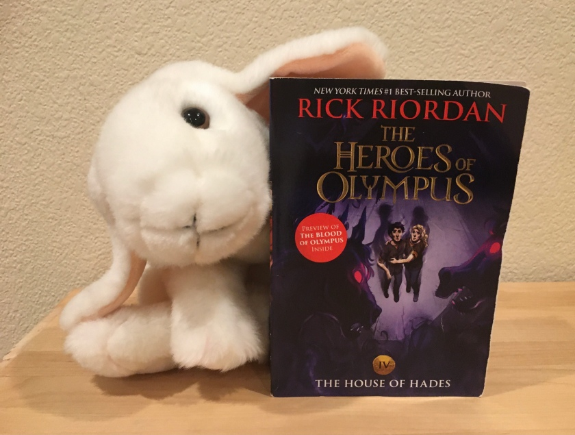 Marshmallow reviews The House of Hades (Book 4 of the Heroes of Olympus Series) by Rick Riordan.