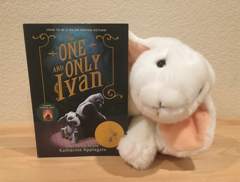 Marshmallow rates The One And Only Ivan by Katherine Applegate 100%.