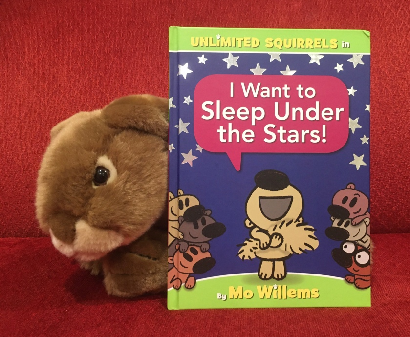 Caramel reviews I Want to Sleep Under the Stars! by Mo Willems.