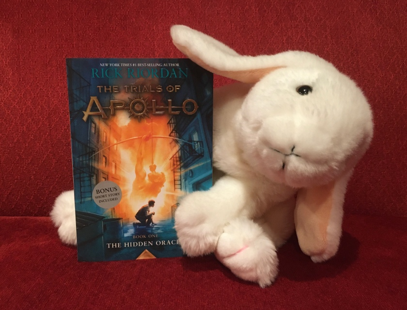 Marshmallow reviews The Hidden Oracle (Book 1 of the Trials of Apollo Series) by Rick Riordan.