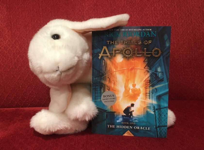 Marshmallow rates The Hidden Oracle (Book 1 of the Trials of Apollo Series) by Rick Riordan 95%.
