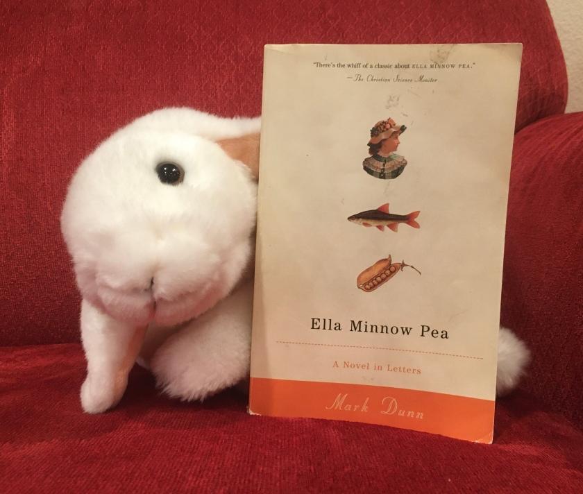 Marshmallow rates Ella Minnow Pea by Mark Dunn 100%.