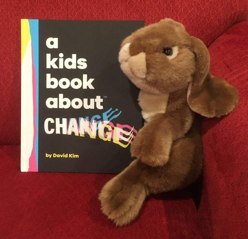 Caramel reviews A Kids Book About Change by David Kim.