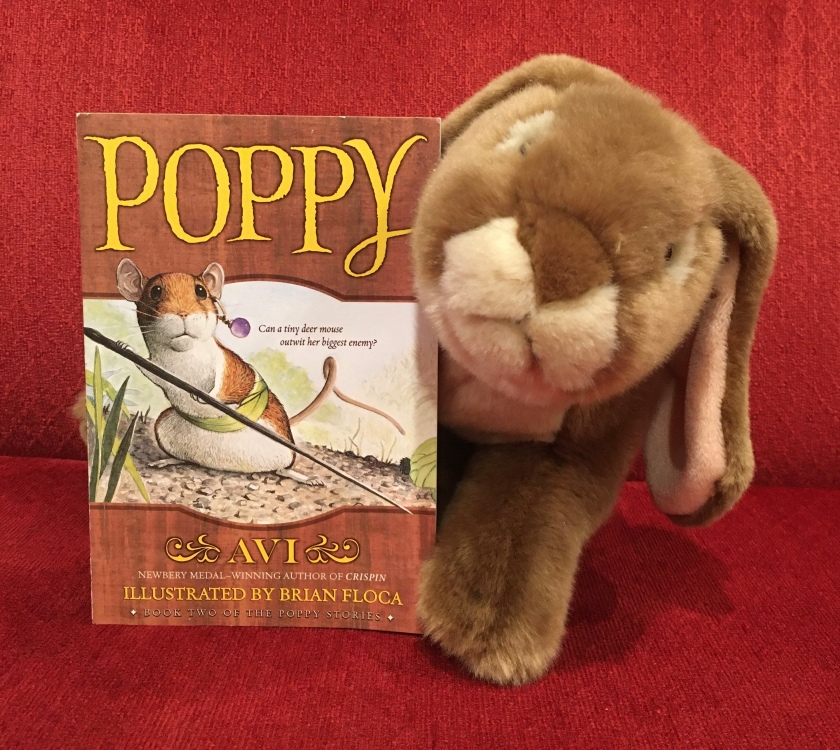 Caramel reviews Poppy, written by Avi and illustrated by Brian Floca.
