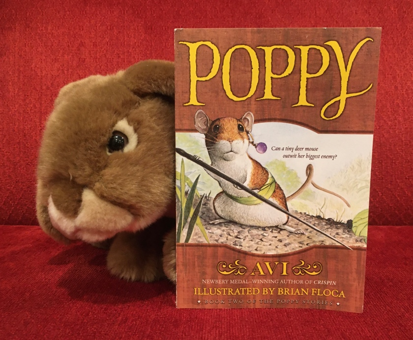 Caramel enjoyed reading Poppy, written by Avi and illustrated by Brian Floca, and is looking forward to reading more about the creatures of Dimwood Forest.